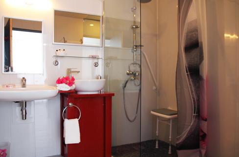 hotel chambre handicapée personne a mobilité réduite entre lacanau et bassin d'arcachon