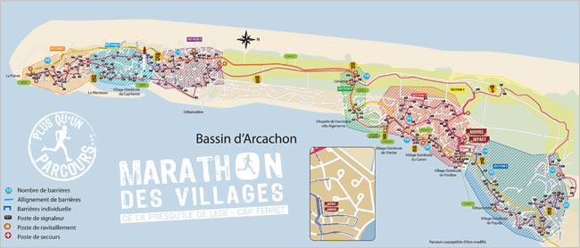 Marathon des village de la presqu'île de Lège Cap Ferret hotel