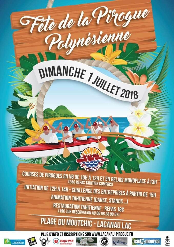 hotel pour Fête de la pirogue Polynésienne LACANAU